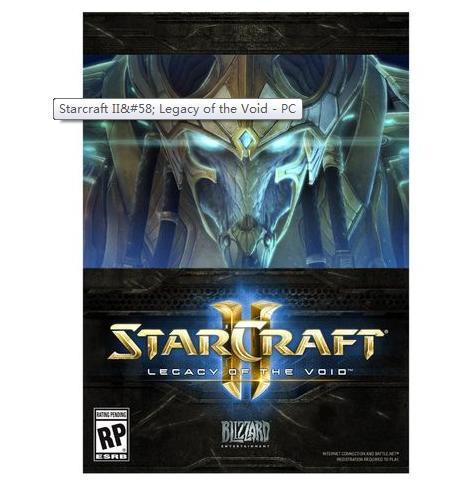 $29.99 Starcraft II: Legacy of the Void - PC