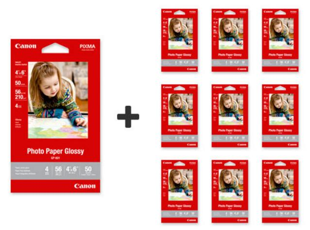 Buy 1 Get 9 FreePhoto Paper Glossy 4