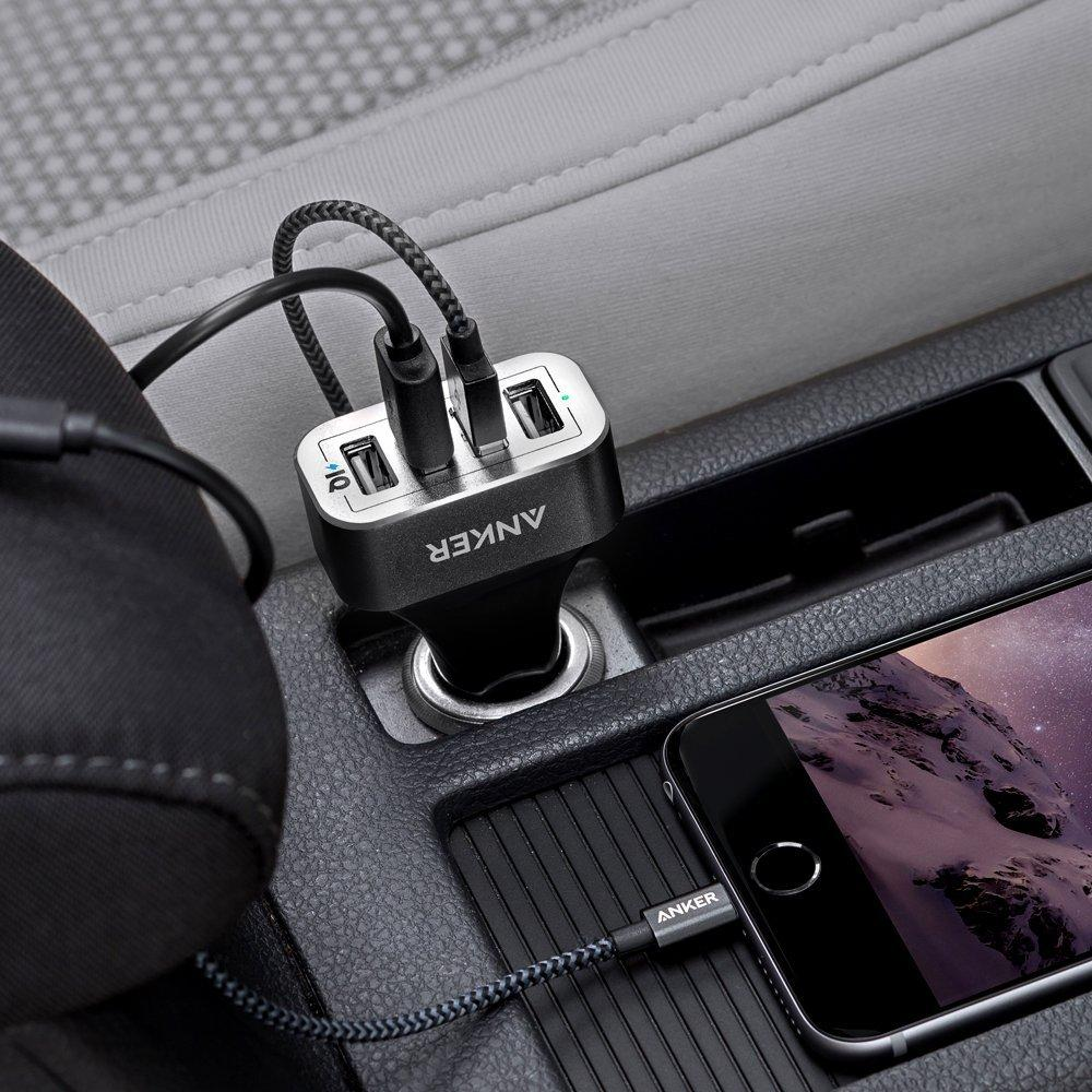 Anker 48W 4-Port USB Car Charger