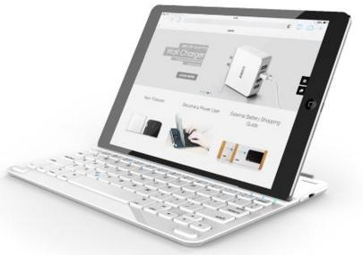 Anker Bluetooth Ultra-Slim Keyboard Cover for iPad Air 2 / Air
