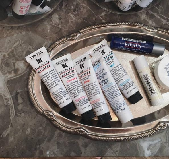 5 samples + free shipping With Lip Balm Purchase @ Kiehls