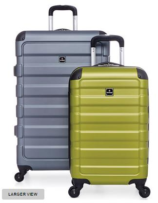 """$49.99 Tag Matrix 20"""" Lightweight Carry On Hardside Spinner Suitcase"""