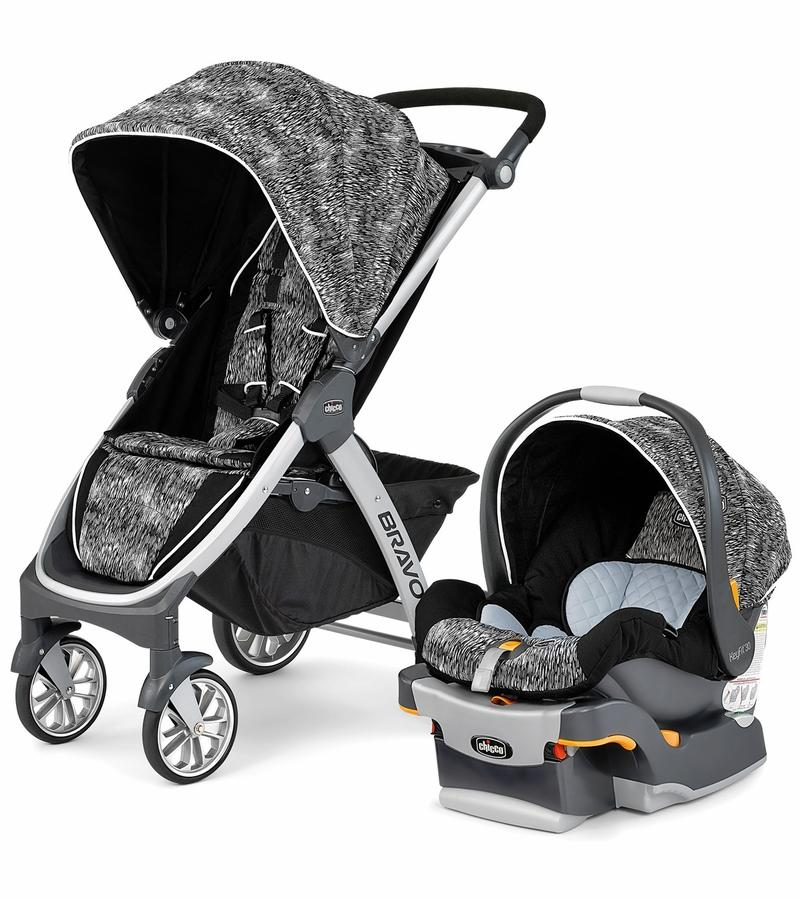 Chicco Bravo Trio Travel System - Multiple Colors