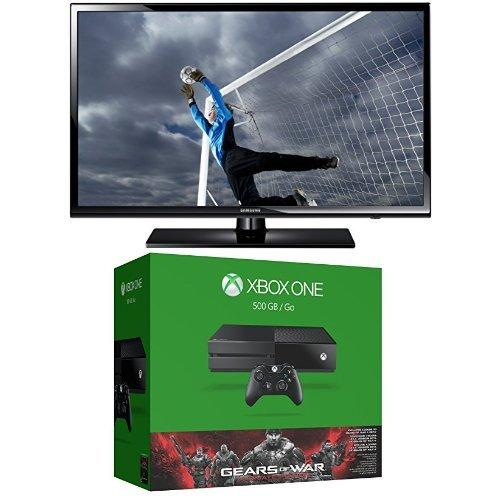 $499.99 Xbox One 500GB Console - Gears of War: Ultimate Edition Bundle with Samsung UN40H5003 40-Inch 1080p 60Hz LED TV