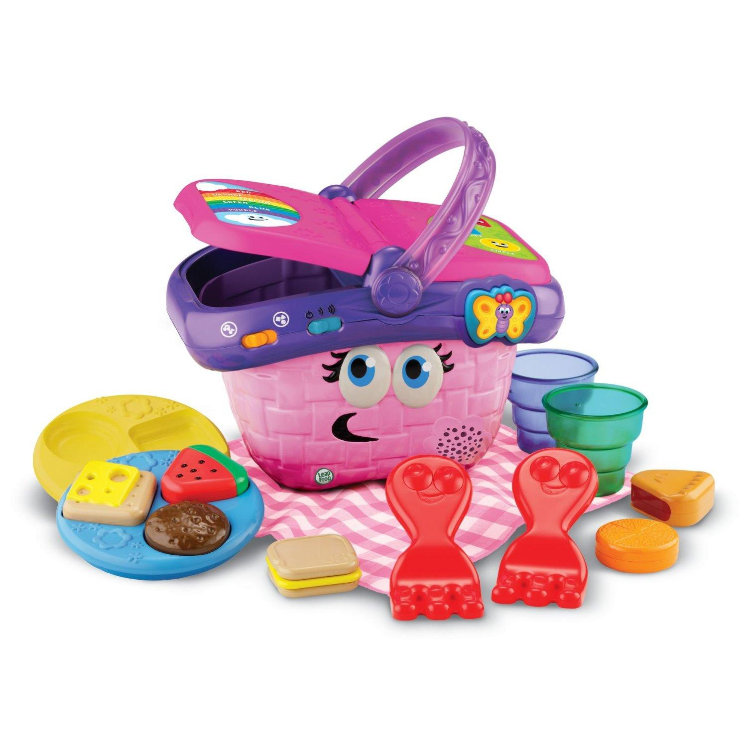 $12.49 LeapFrog Shapes And Sharing Picnic Basket