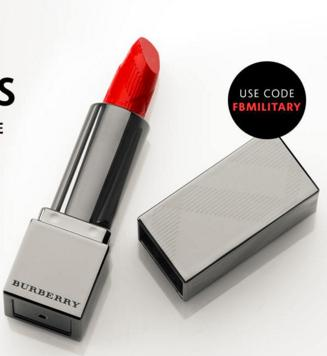Free Burberry Lipstick with any $25 purchase @ Sephora.com