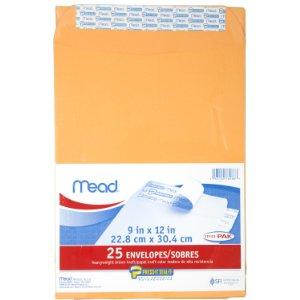 From $1.99 Mead Press-It Seal-It Envelopes