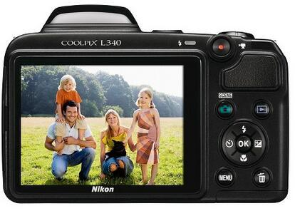 Nikon Coolpix L340 20.2 Mp Digital Camera Black (26484)