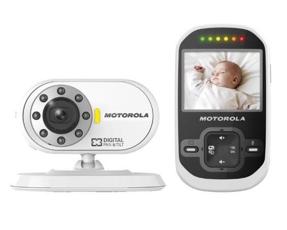 Motorola MBP26 Wireless 2.4 GHz Video Baby Monitor with 2.4