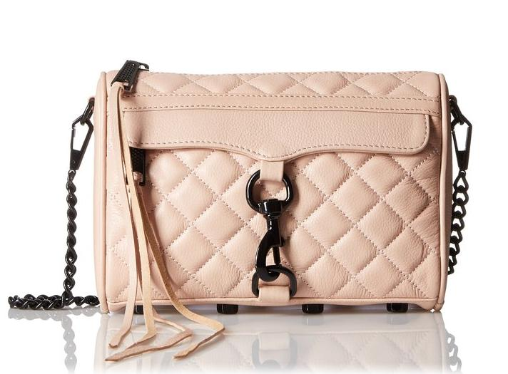 Rebecca Minkoff Quilted Mini Mac Convertible Cross Body Bag