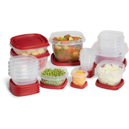 $7.5 Rubbermaid Easy Find Lids 34-Piece Food Storage Set