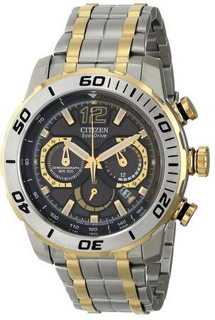 Citizen Men's CA4084-51E Primo Stingray 620 Analog Display Japanese Quartz Two Tone Watch