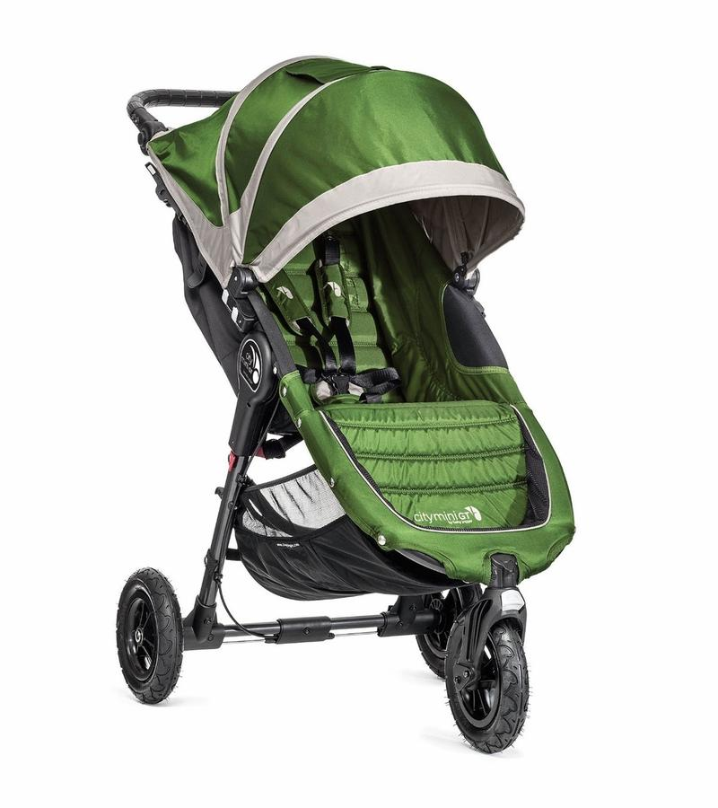 Baby Jogger City Mini GT Single Stroller - Green
