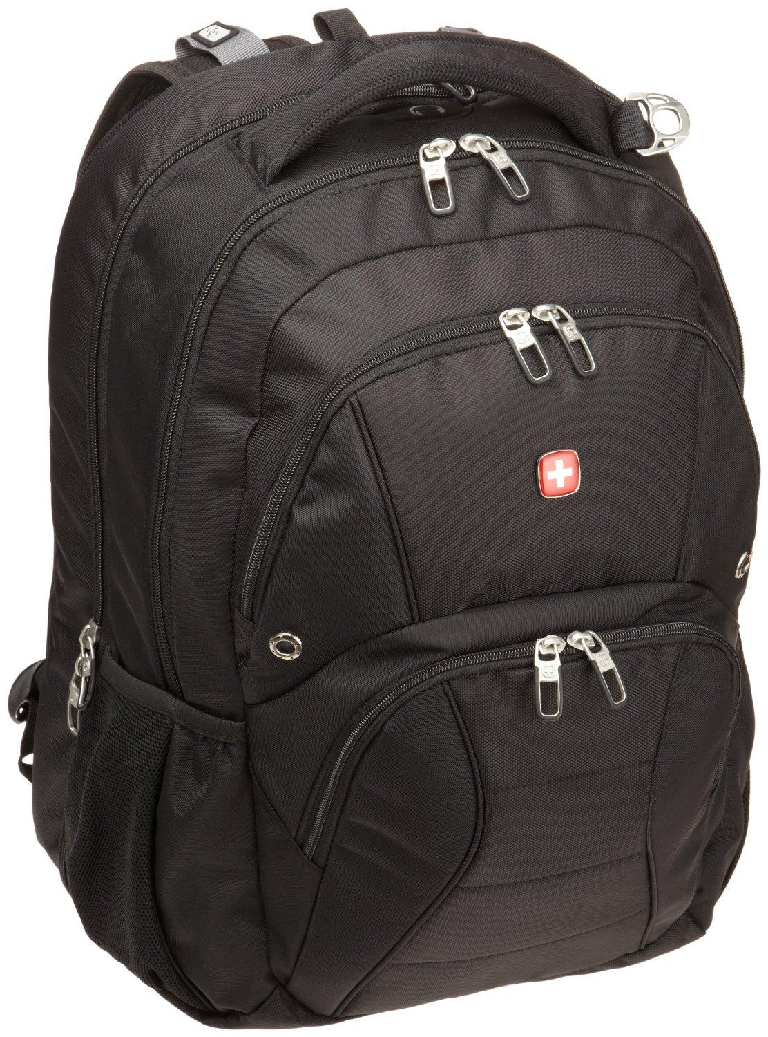 SwissGear ScanSmart Laptop Computer Backpack SA1908 (Black)