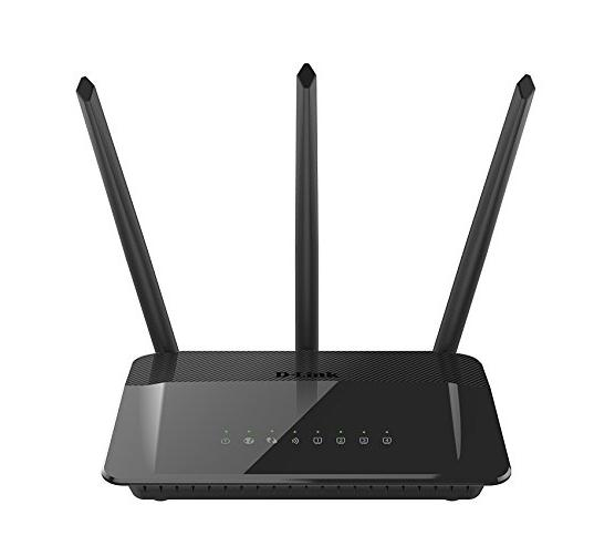 D-Link Systems AC1750 High Power Wi-Fi Gigabit Router (DIR-859)