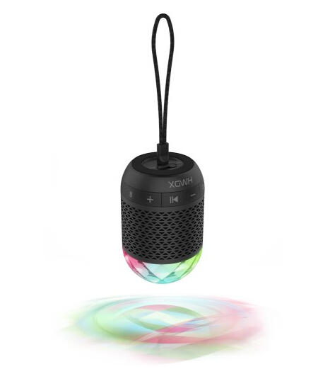 HMDX Daze Portable Bluetooth Speaker Black HX-P270