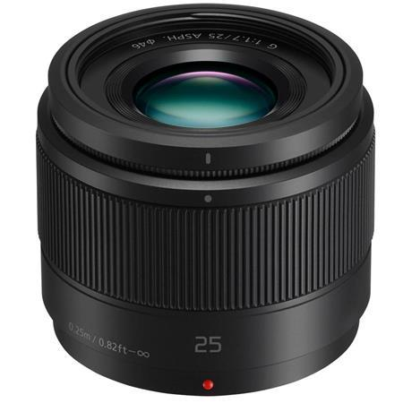 $97.99 Panasonic 25mm f/1.7 Lumix G Aspherical Lens for Micro 4/3 System