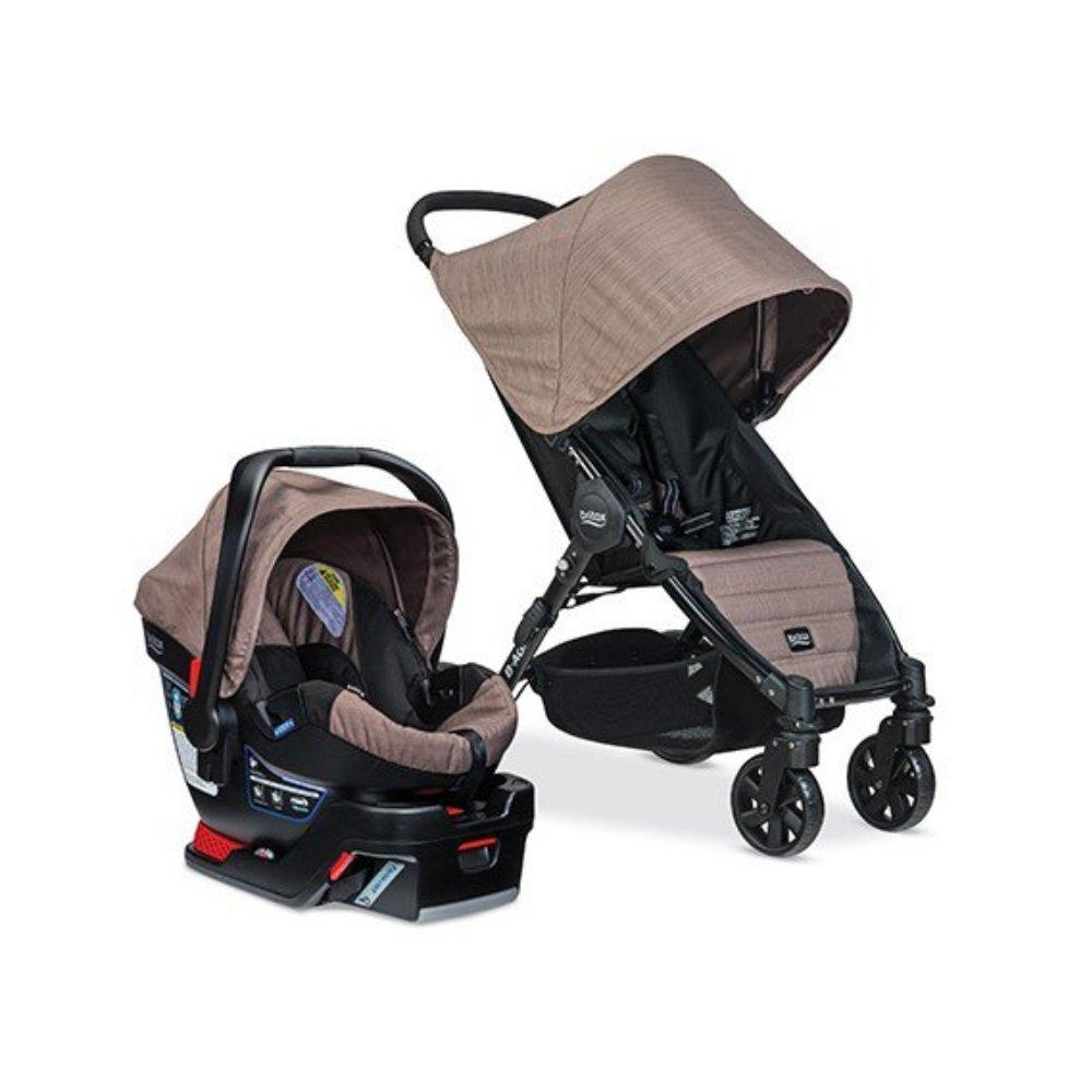 Britax B-Agile 4/B-Safe 35 Travel System, Fossil Brown