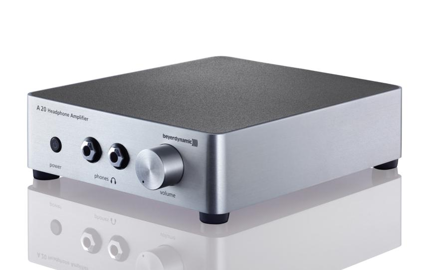 $389.00 Beyerdynamic A20 Headphone Amplifier - Silver