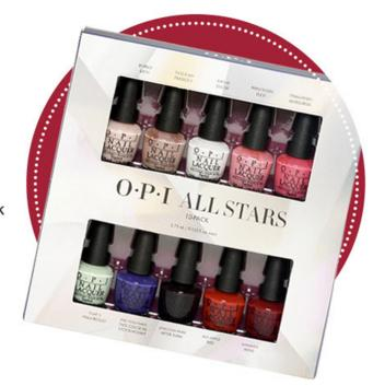OPI  Online Only All Stars Mini 10 Pack