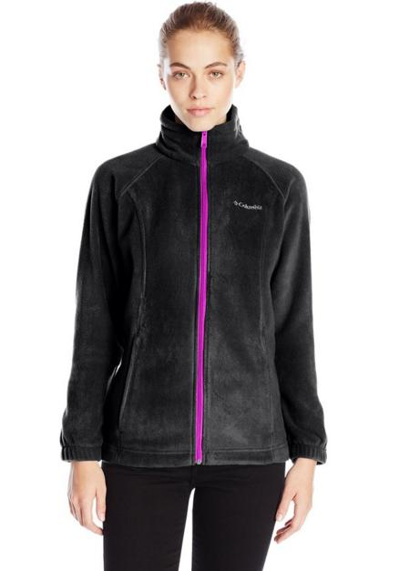 From $18.6 (Reg. $60) Columbia Women's Benton Springs Full-Zip Fleece Jacket
