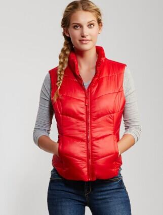 Solid Puffy Vest @ AERO