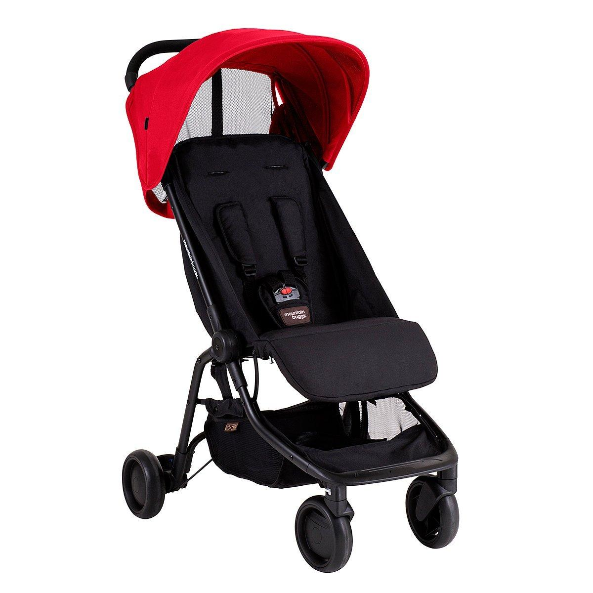 $195+$40 Gift Card Mountain Buggy Nano Travel Stroller, Ruby