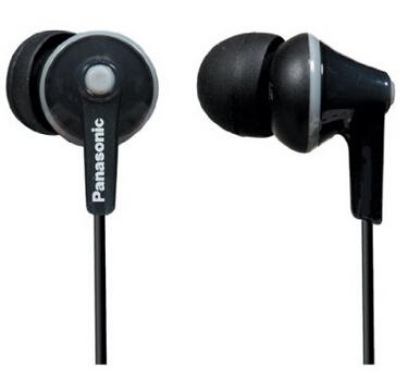 Panasonic RPTCM125K Headphones (Black)