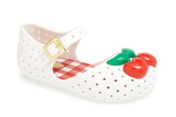 Mini Melissa 'Furandinha' Mary Jane Flat (7m)