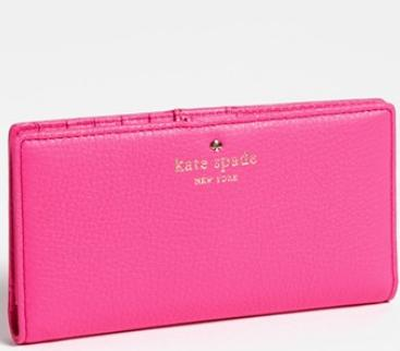 kate spade new york 'cobble hill - stacy' wallet