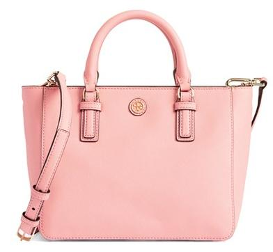 Tory Burch 'Robinson Mini' Square Tote