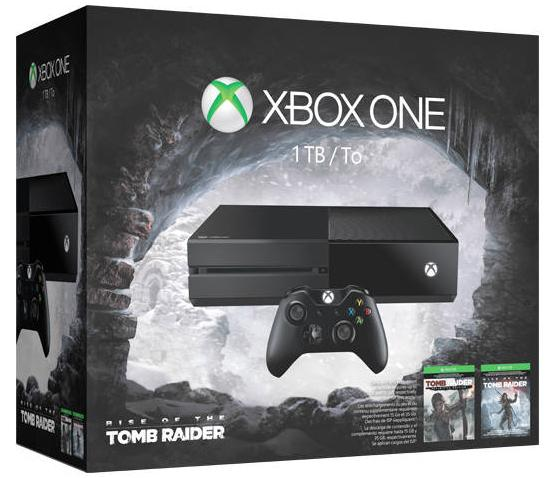 $349 Xbox One Rise of the Tomb Raider Bundle + $60 gift code + free game