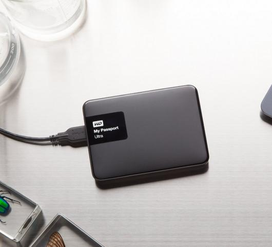 $109 Western Digital My Passport Ultra 3 TB Portable External Hard Drive