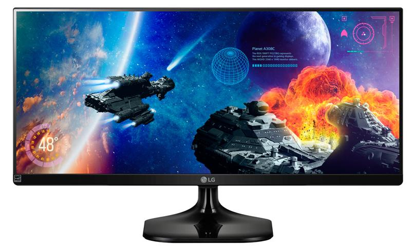 "$319.99 LG Electronics 34UM57 34"" IPS WFHD Ultrawide Monitor"