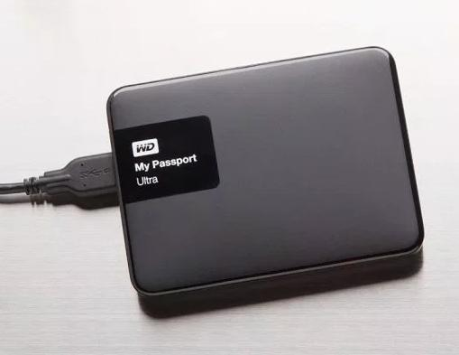 WD My Passport Ultra 3TB External Hard Drive, Classic Black (2015)