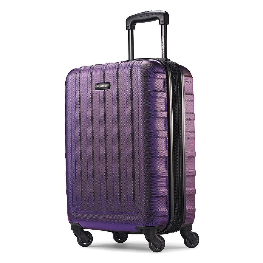 $72 Samsonite Ziplite 2.0 20-Inch Hardside Spinner Carry-On Luggage (64616)