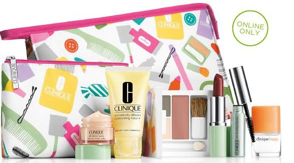 Free 8Pc Gift with Any Clinique Purchase of $27+ @ Belk