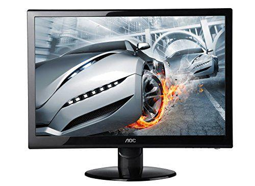 AOC 27-Inch LED Monitor (e2752she), 2ms Response Time, (2) HDMI Inputs, Slim Design
