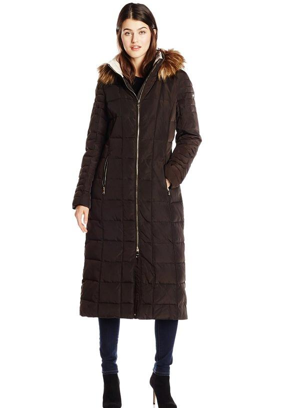 Calvin Klein Women's Long Maxi Down Coat