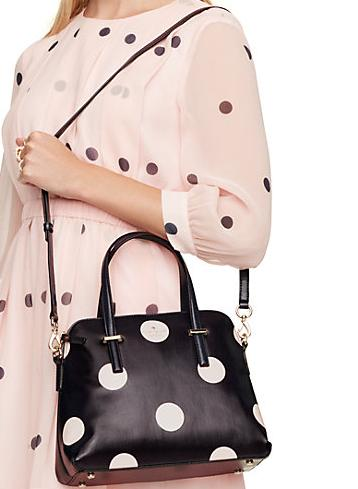 $145.95 kate spade new york Cedar Street Dot Maise Satchel Bag