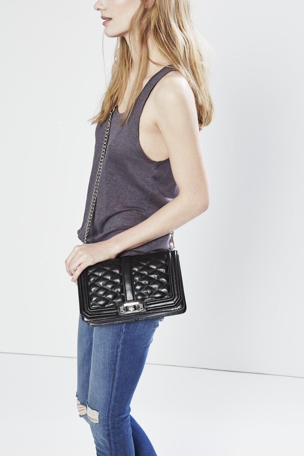 Extra 30% Off Rebecca Minkoff Love Crossbody Shoulder Bag @ Amazon.com