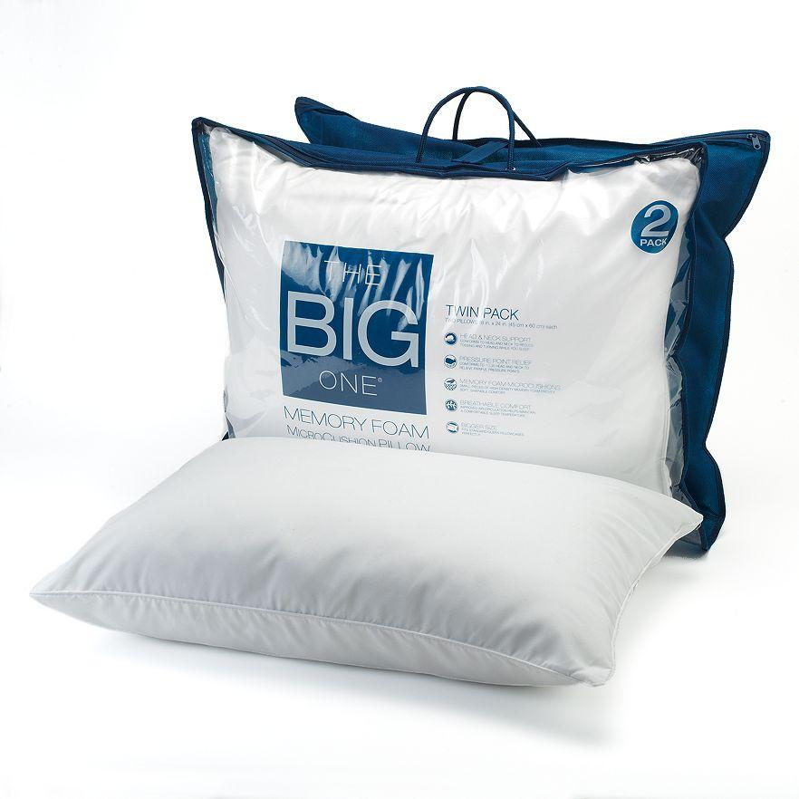 The Big One® 2-pk. Gel Memory Foam Bed Pillows