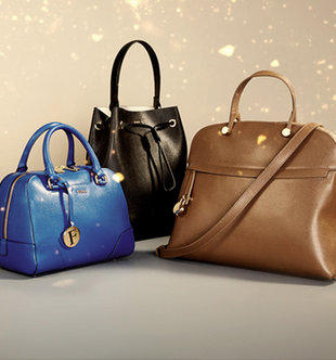 From $39 + Free Shipping Longchamp & Furla Handbags & Accessories On Sale @ Gilt