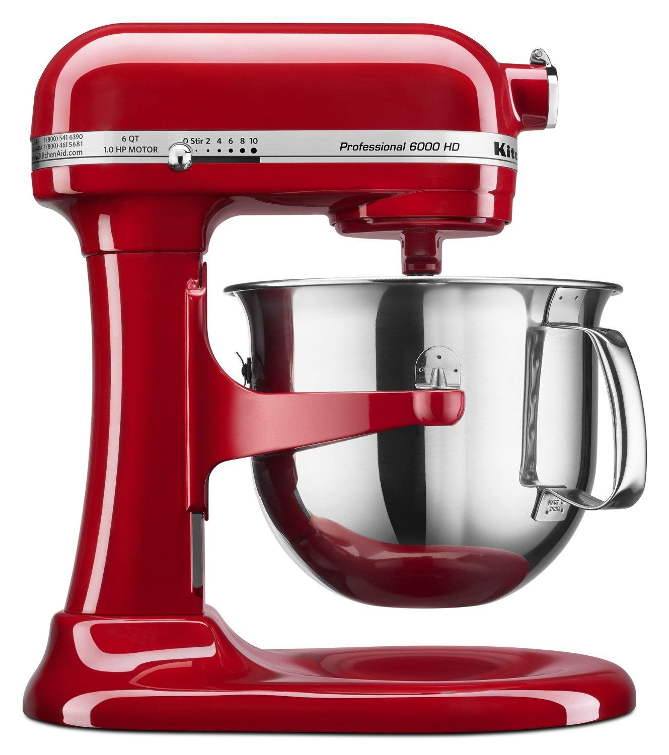 $249.99 KitchenAid KSM6573CER 6-Qt. Professional 6000 HD Bowl-Lift Stand Mixer
