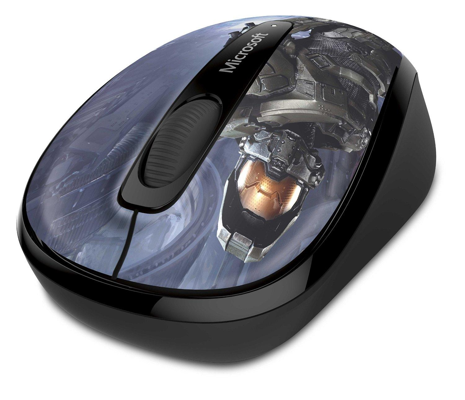$14.99 Microsoft Wireless Mobile Mouse 3500 Halo Limited Edition: The Master Chief