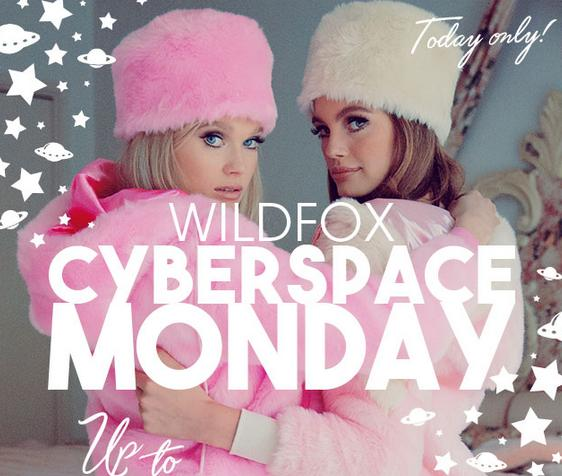 Up to 65% Off + Extra 30% OffWildfox Cyber Monday Sale @ Wildfox