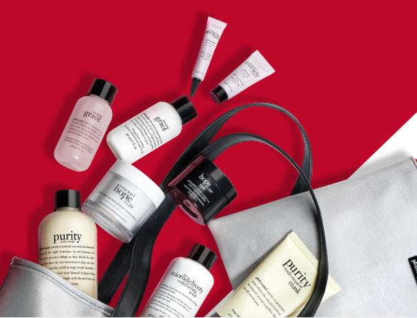 Free 9-Piece Gift with Any $75 Purchase @ philosophy