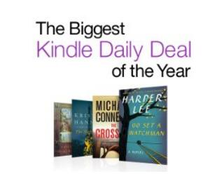 $0.99-$4.99 Biggest Kindle Daily Deal Of The Year