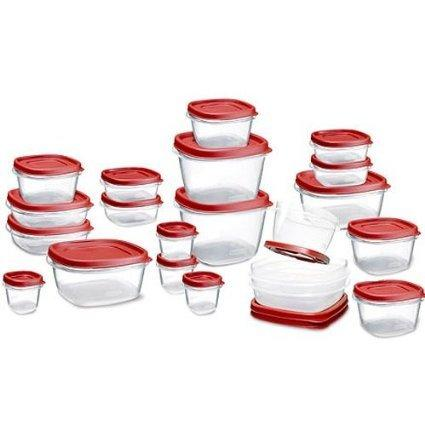 $9.99 Rubbermaid Easy Find Lid Food Storage Set, 42-Piece