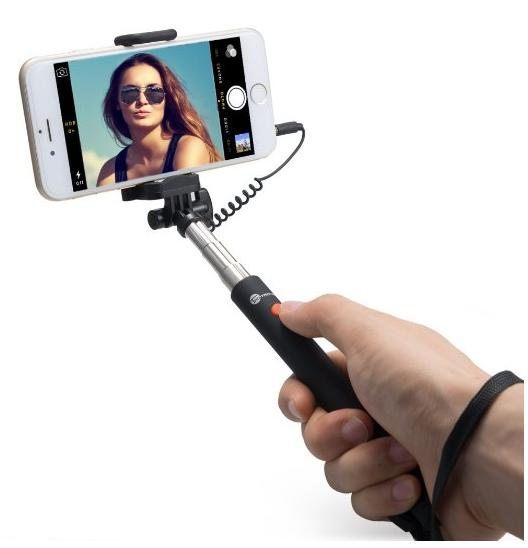 TaoTronics® Selfie Stick Telescopic Monopod for Android and iOS Smartphones